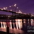 Suspension Bridge by Michael Shake