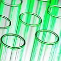 Test Tubes In Science Research Lab by Science Research Lab By Olivier Le Queinec