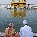 The Golden Temple at Amritsar India