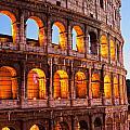 The Majestic Coliseum - Rome by Luciano Mortula