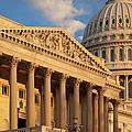 Us Capitol by Brian Jannsen