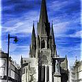 View Of Episcopal Cathedral In Edinburgh by Ashish Agarwal