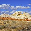 White Pocket Utah Landscape by Amnon Suodai