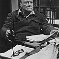 Winston Churchill by Retro Images Archive