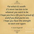 74- F. Scott Fitzgerald by Joseph Keane
