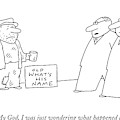My God, I Was Just Wondering What Happened To Him by Charles Barsotti
