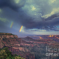 749220049 Double Rainbow Cape Royal North Rim Grand Canyon National Park by Dave Welling