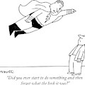 Did You Ever Start To Do Something by Charles Barsotti
