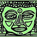 Cleark Buddha Green Black by Eddie Alfaro