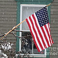 #762 D68 American Flag Winter by Robin Lee Mccarthy Photography