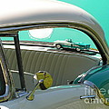 #766 D86 Mini Holiday Oldsmobile Antique Cars  by Robin Lee Mccarthy Photography