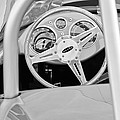 1959 Devin Ss Steering Wheel by Jill Reger