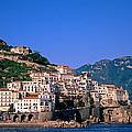 Amalfi Town In Italy by George Atsametakis