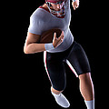 American Football Player by Science Picture Co