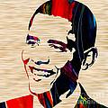 Barack Obama by Marvin Blaine