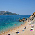 Beach In Legrena by George Atsametakis