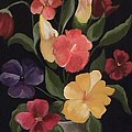 Blooms Of Spring by Peggy Martin