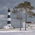 Bodie Island Lighthouse by Bruce Roberts