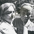 British-born Sculptress Completes Bust Of President Nyerere by Retro Images Archive