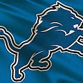 Detroit Lions Uniform by Joe Hamilton