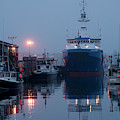Early Morning In Portland, Maine by Jose Azel