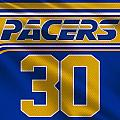 Indiana Pacers Uniform by Joe Hamilton