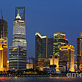 Pudong Skyline by John Shaw