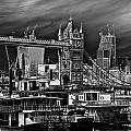 River Thames Art by David Pyatt