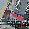 San Francisco Sailboat Racing by Steven Lapkin