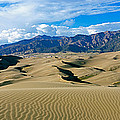 Sand Dunes In A Desert, Great Sand by Panoramic Images