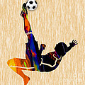 Soccer Player by Marvin Blaine
