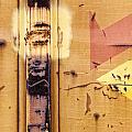 Train Art Abstract by Carol Leigh