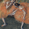 Two Dancers by Edgar Degas