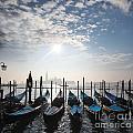 Venice With Gondolas by Tomas Marek