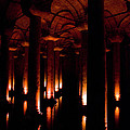 Yerebatan Sarayi Cistern Istanbul  Turkey   by Dray Van Beeck