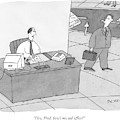 Hey, Fred, How's My Old Office? by Peter C. Vey