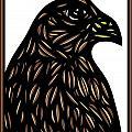 Labore Eagle Hawk Brown White by Eddie Alfaro