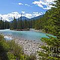 853p Bow River Canada by NightVisions