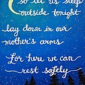8x10 Dmb So Let Us Sleep Outside Tonight by Michelle Eshleman