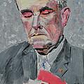 9-11 Mayor Giuliani by Ruben Barbosa