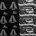 9/11 Memorial For Sale In Black And White by Rob Hans