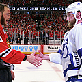 2015 Nhl Stanley Cup Final - Game Six by Bruce Bennett