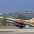 An F-16a Netz Of The Israeli Air Force by Ofer Zidon