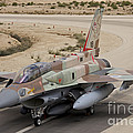 An F-16i Sufa Of The Israeli Air Force by Ofer Zidon