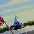 Battleship North Carolina by Chick Phillips