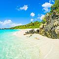 Beautiful Caribbean Beach by Raul Rodriguez