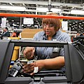 Car Dashboard Assembly Line by Jim West