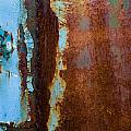 Colored Rust Metal by Alain De Maximy