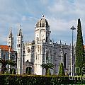 Hieronymites Monastery In Lisbon by Luis Alvarenga