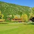 9-hole Golf Course In Autumn At Pine by Panoramic Images
